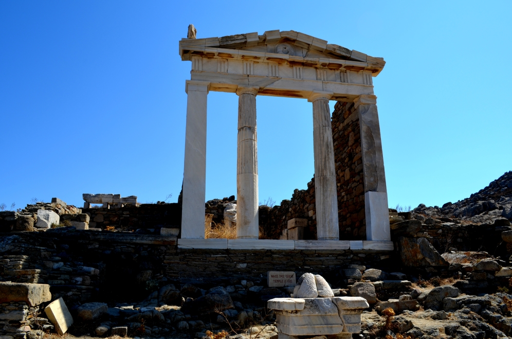 Delos-Cyclades-Grèce